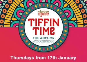 Tiffin Time - Thursday's at The Anchor, Woodbridge